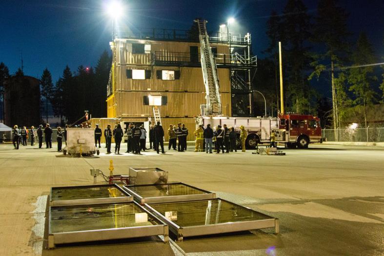 W A Lane Macdonald Fire Training Centre City Of Courtenay