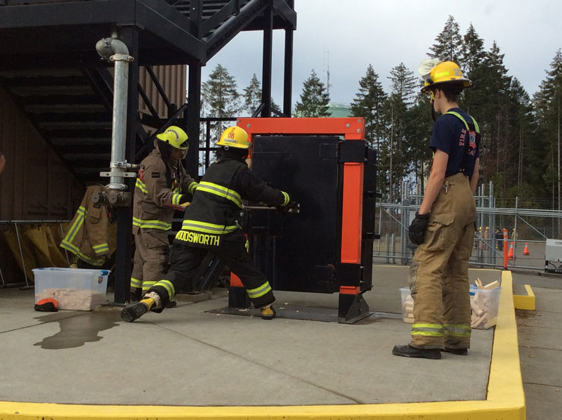 Courtenay Fire Hosts Training Weekend | City of Courtenay